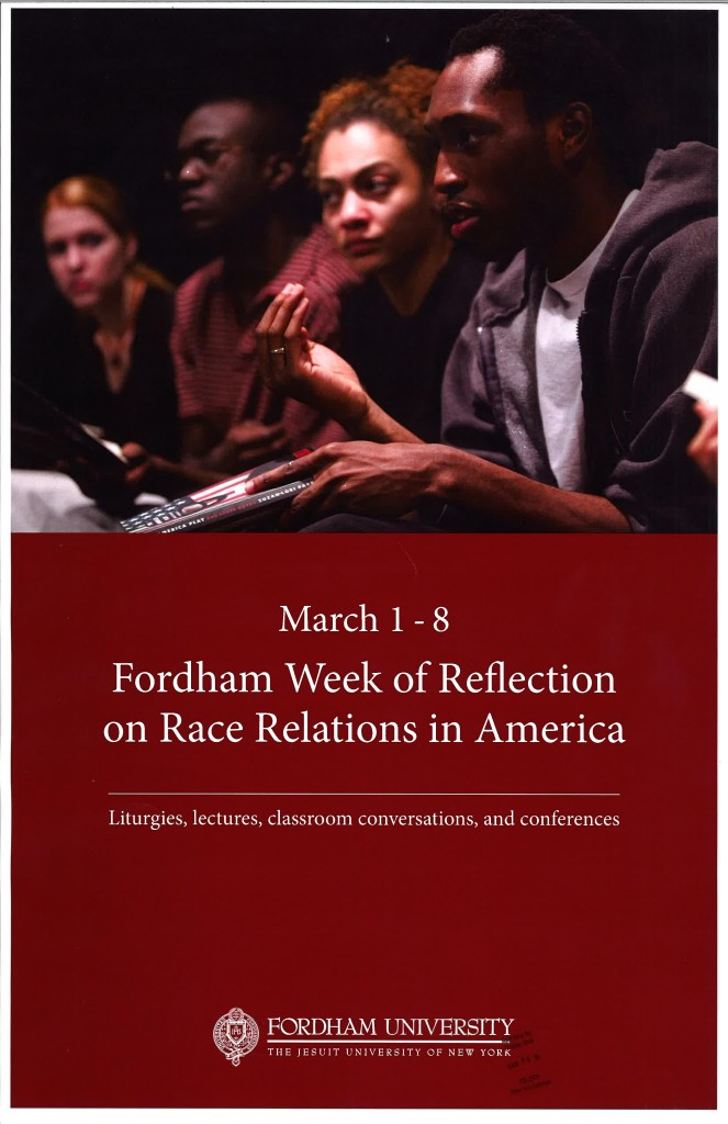Fordham Week of Reflection on Race